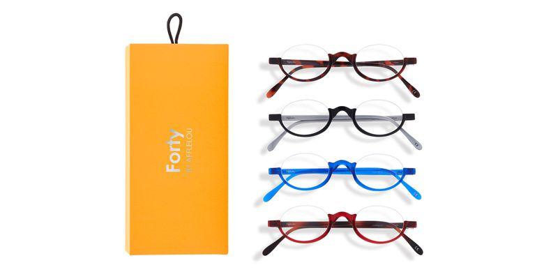 Óculos graduados FORTY PACK LARANJA PRÉ GRADUADOS  (DE +1.00 A +3.00) laranja
