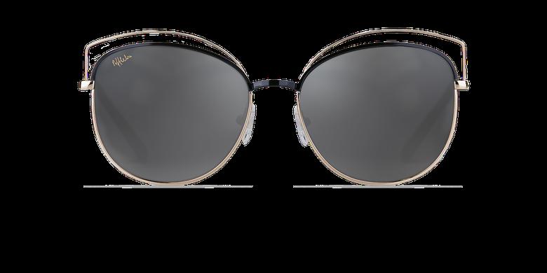 Óculos de sol senhora BETTY preto/dourado
