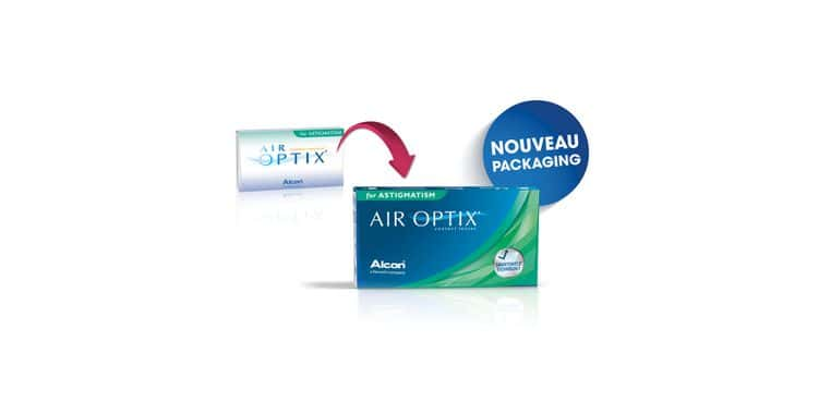 Lentilles de contact Air Optix for Astigmatism 3L