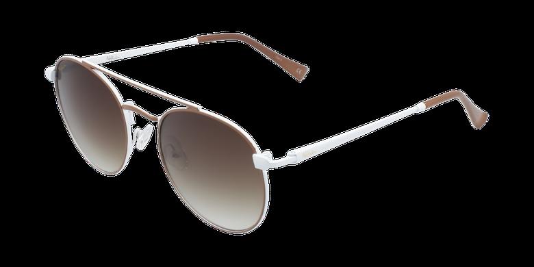 Óculos de sol criança SANTIAGO BR castanho/branco