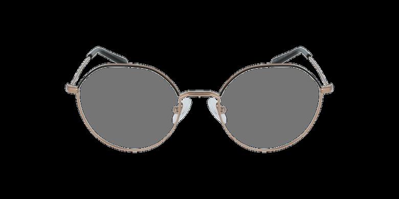 Lunettes de vue femme ANAELLE noir/doré
