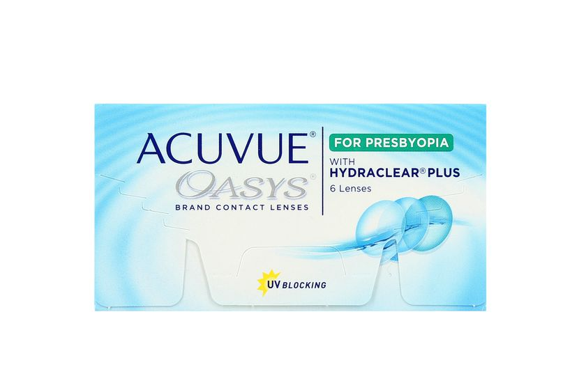 Lentilles de contact Acuvue® Oasys® for Presbyopia LOW - vue de face