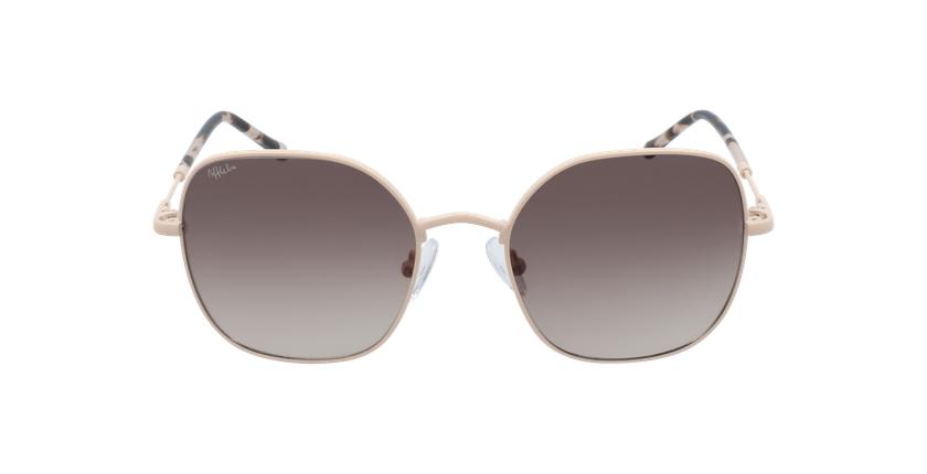 Óculos de sol senhora ALIX PK rosa - Vista de frente