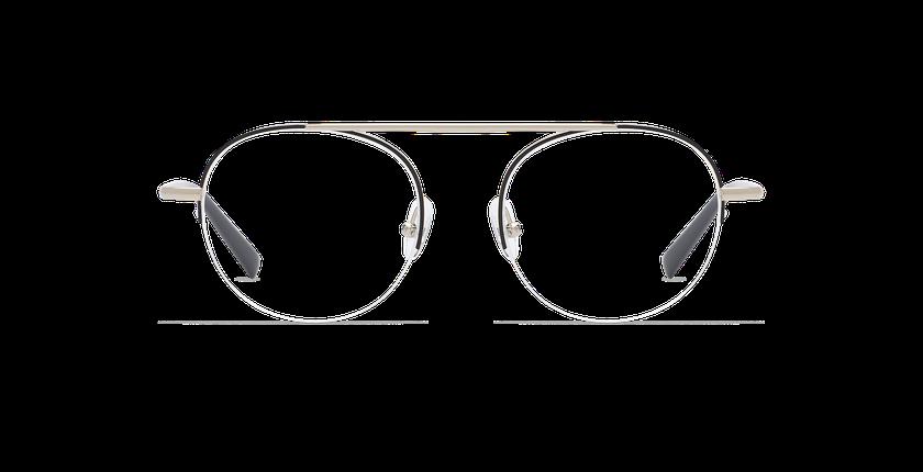 Óculos graduados senhora REBECCA- PRETO (Tchin-Tchin +1€) preto/dourado - Vista de frente