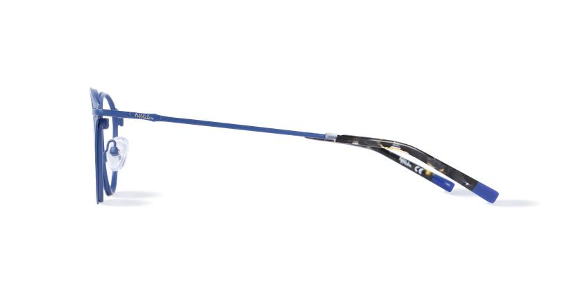 Óculos graduados homem LOM7240 azul - Vista lateral