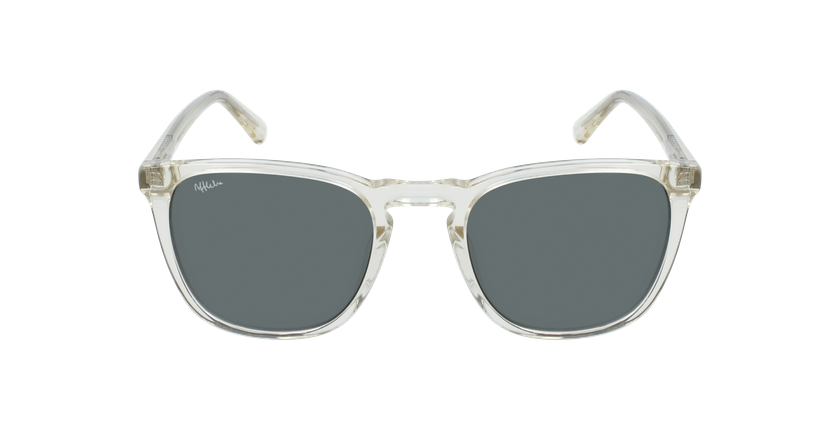 Óculos de sol homem ERVIN CR cristal - Vista de frente