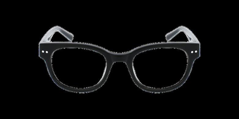 Óculos graduados senhora SWAN BK (TCHIN-TCHIN +1€) pretoVista de frente