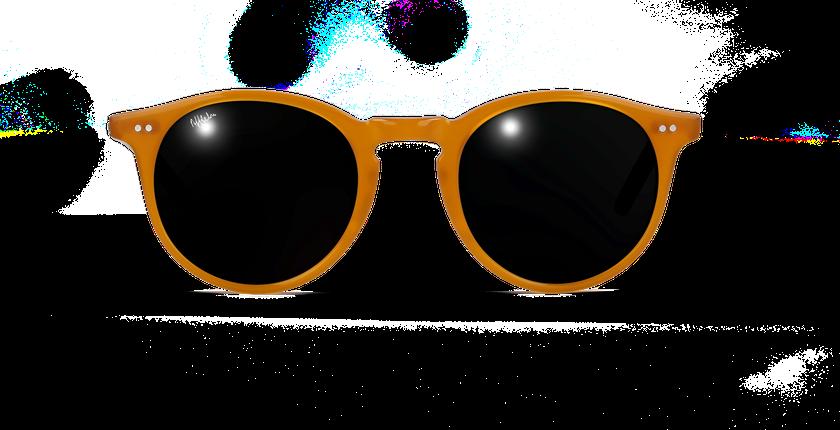 Lunettes de soleil homme MELBOURNE orange - vue de face