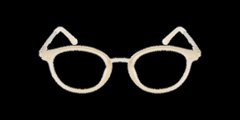 Óculos graduados senhora MAGIC 97 BGGD bege/douradoVista de frente