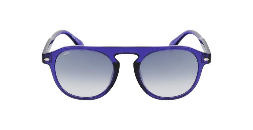 Lunettes de soleil BEACH violet - Vue de face