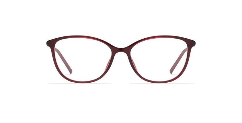 Óculos graduados senhora LIGHT TONIC MOON vermelho - Vista de frente