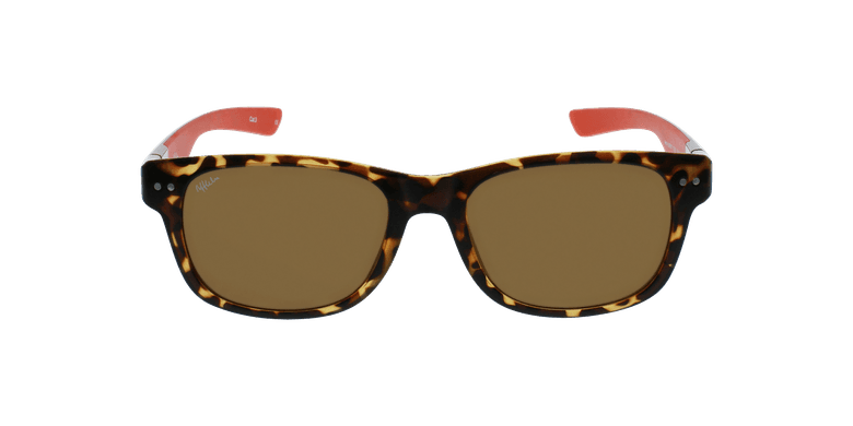 Óculos de sol homem FLORENT POLARIZED TORD tartaruga /vermelho