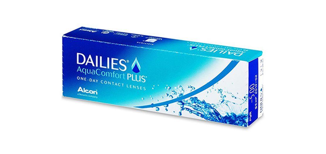 Lentes de contacto Dailies AquaComfort Plus 30L