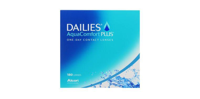 Lentilles de contact Dailies AquaComfort Plus 180L