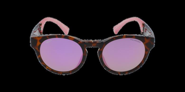 Lunettes de soleil femme SLALOM écaille/rose