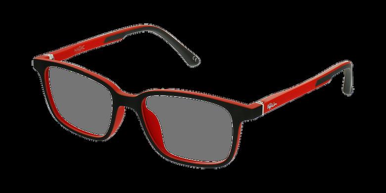 Lunettes de vue enfant MAGIC 76 ECO-RESPONSABLE noir/rouge
