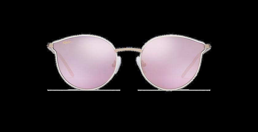 Gafas de sol mujer MELROSE blanco - vista de frente
