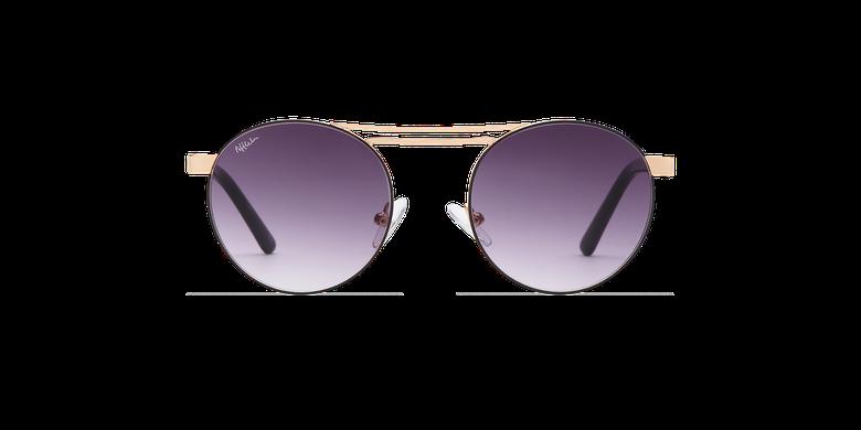 Óculos de sol senhora ROMY SAF preto/dourado