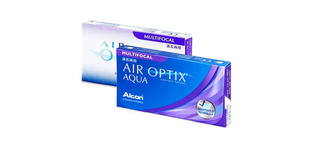 Lentilles de contact Air Optix Aqua Multifocal 3L