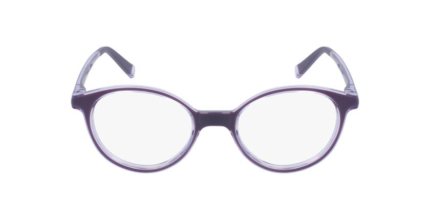 Óculos graduados criança RFOP2 PU REFORM violeta - Vista de frente