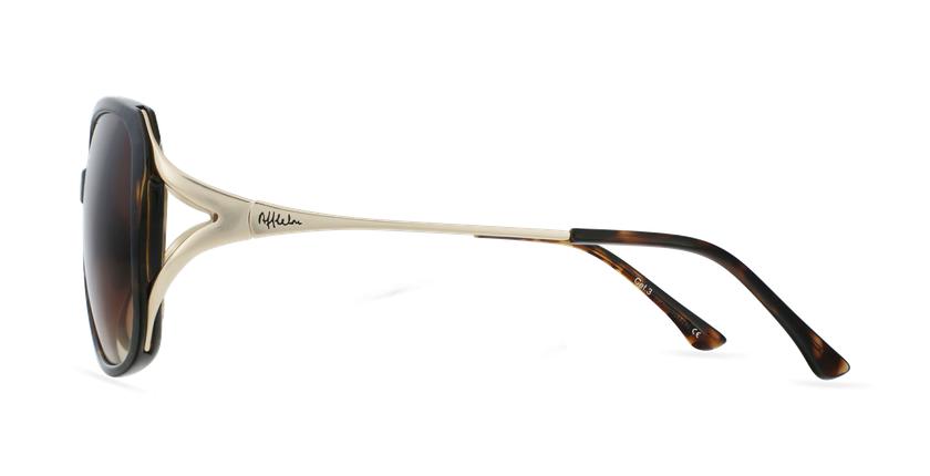 Óculos de sol senhora ROSALES TO tartaruga /dourado - Vista lateral