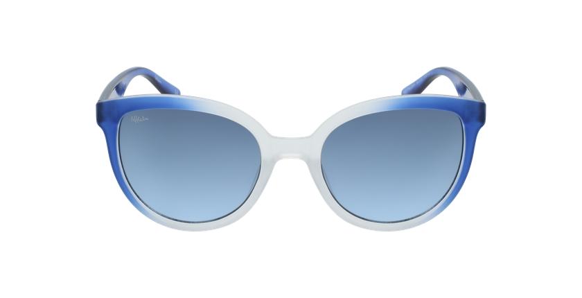 Lunettes de soleil femme PALOMA bleu - Vue de face