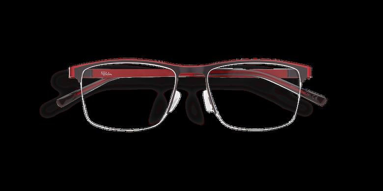 Óculos graduados homem ALPHA16_CINZENTO cinzento/vermelho