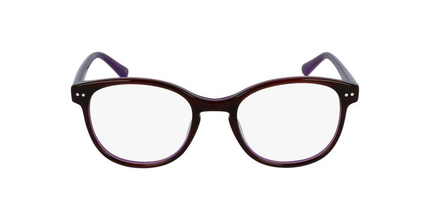 Óculos graduados criança TESS TO (TCHIN-tCHIN +1€) tartaruga /violeta - Vista de frente