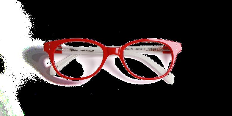 Lunettes de vue enfant AMELIA rouge