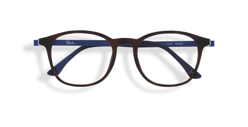 fb14d3d660 ... Gafas de sol hombre MAGIC 25 BLUE BLOCK carey/azul - vista de frente ...