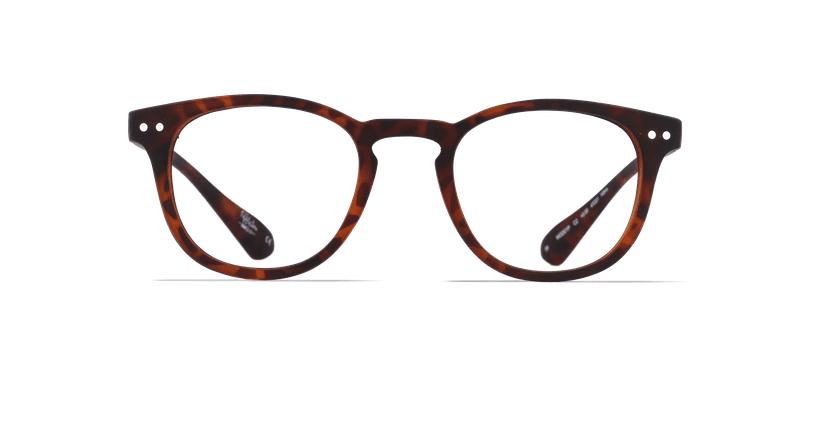 Óculos graduados MOD01P tartaruga  - Vista de frente