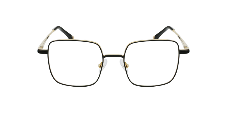 Óculos graduados senhora MAGIC 94 BK preto/douradoVista de frente