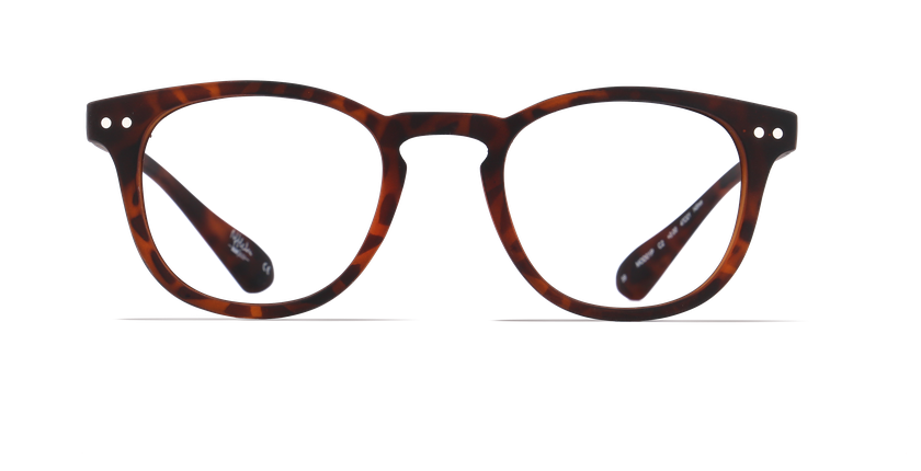 Gafas graduadas BLUE BLOCK MIXTE carey - vista de frente