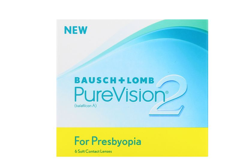 Lentilles de contact PureVision 2 HD for Presbyopia LOW - vue de face