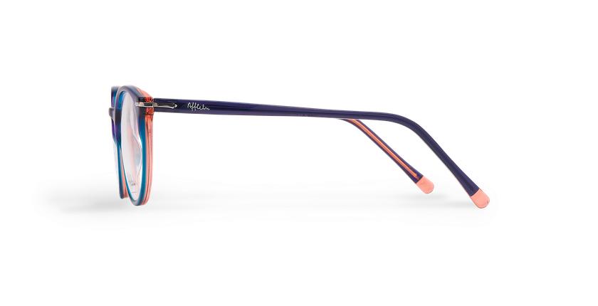 Óculos graduados senhora OYOANNAX azul/verde - Vista lateral