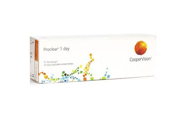 Lentilles de contact Proclear® 1day 30L - Vue de face