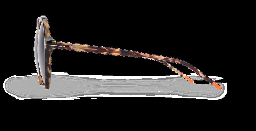 Óculos de sol senhora KENDAL TO01 tartaruga  - Vista lateral
