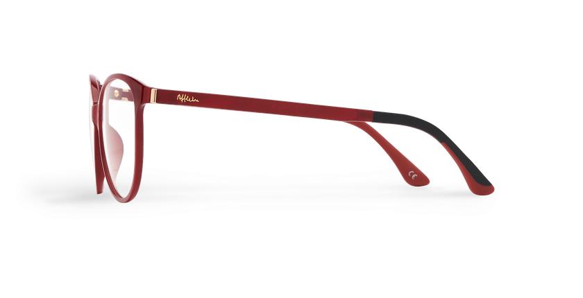 Óculos graduados senhora MAGIC 29 RD BLUEBLOCK - BLOQUEIO LUZ AZUL vermelho - Vista lateral
