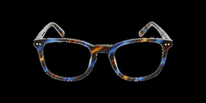 Lunettes de vue homme MIKE écaille/bleu