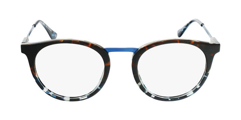 Lunettes de vue CATHERINE bleu/écaille