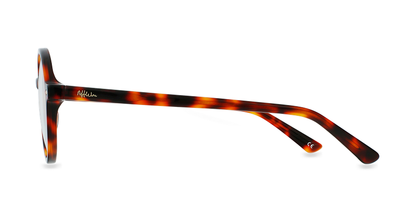 Óculos graduados CAMELIA TO01 (TCHIN-TCHIN +1€) tartaruga /castanho - Vista lateral