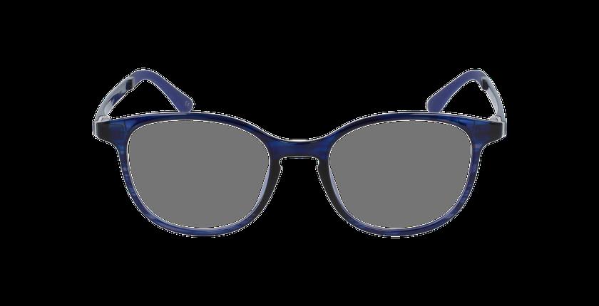 Lunettes de vue femme MAGIC 09 violet/bleu - Vue de face