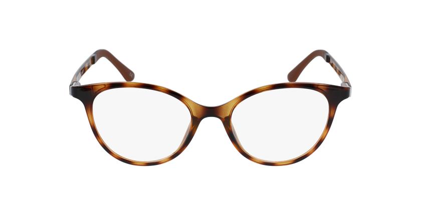 Óculos graduados senhora MAGIC 23 tartaruga  - Vista de frente