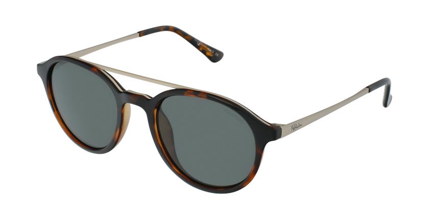 Óculos de sol GLENN TO tartaruga /dourado - vue de 3/4