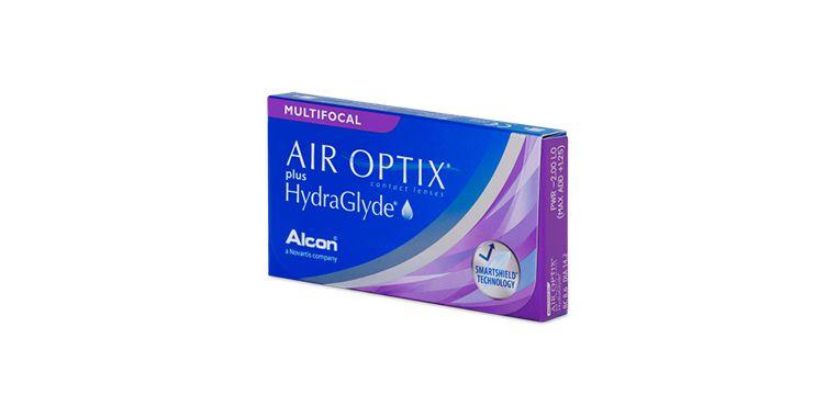Lentilles de contact Air Optix Plus Hydraglyde Multifocal 6L
