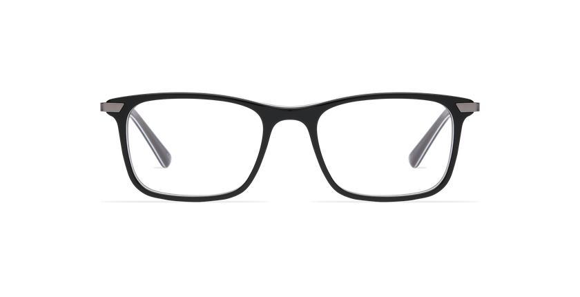 Lunettes de vue homme MARIUS noir - Vue de face