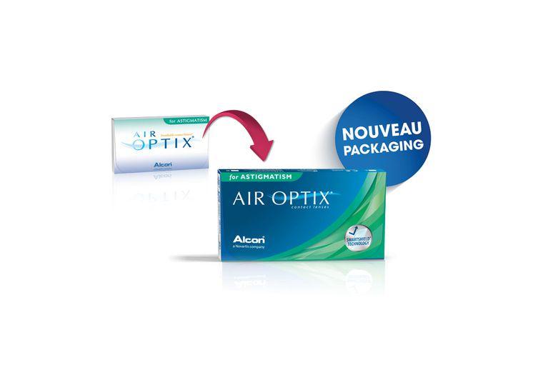 Lentilles de contact Air Optix for Astigmatism 3L