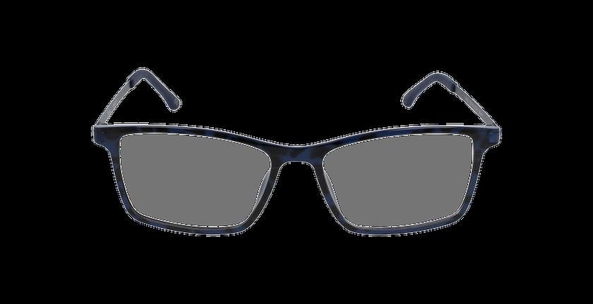 Lunettes de vue homme MAGIC 19 bleu/écaille - Vue de face