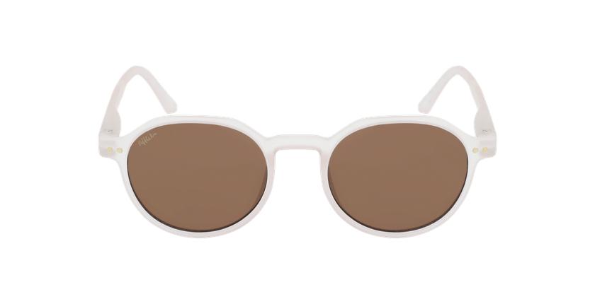 Óculos de sol criança PAZ PK rosa - Vista de frente