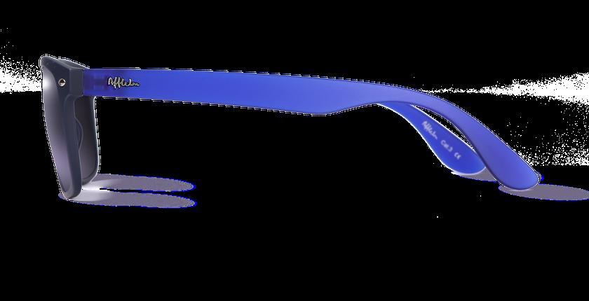 Lunettes de soleil homme CARUCEDO bleu - vue de côté